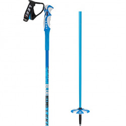 Bâtons de ski freeride Leki Blue Bird Carbon