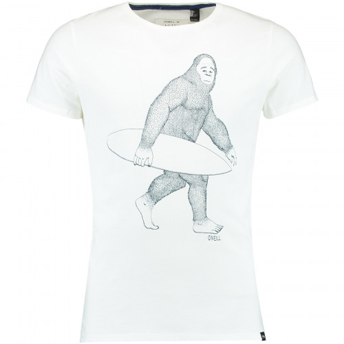 T-shirt O'Neill LM Horizon Powder White