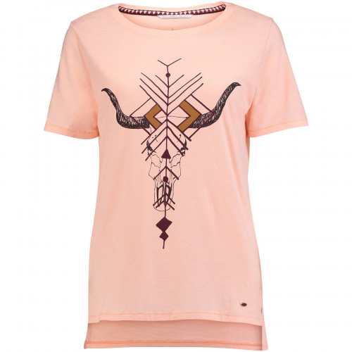 T-shirt O'Neill LW Americana Tropical Peach