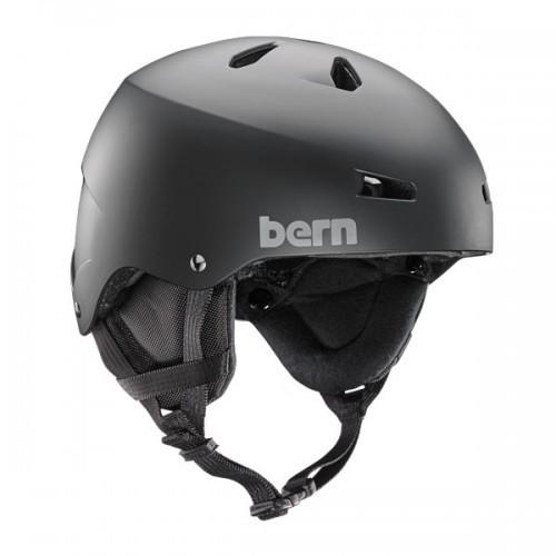 Casque de Ski Bern Macon Matte Black