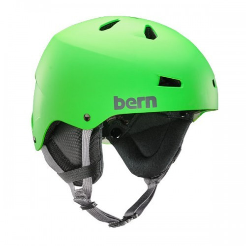 Casque de Ski Bern Team Macon Neon Green