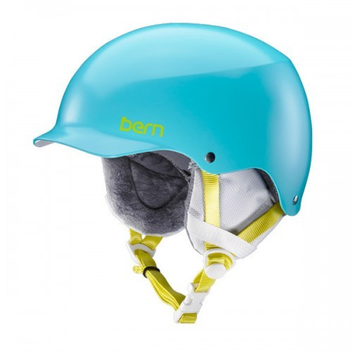 Casque de Ski Bern Team Muse Satin Aqua Green