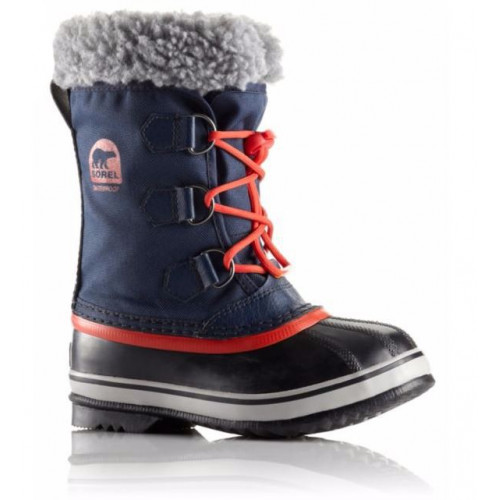 Botte Sorel Yoot Pac Nylon Collegiate Navy SailRed