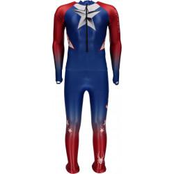 Combinaison De Ski Compétition Spyder Men's Performance Gs Red White Blue
