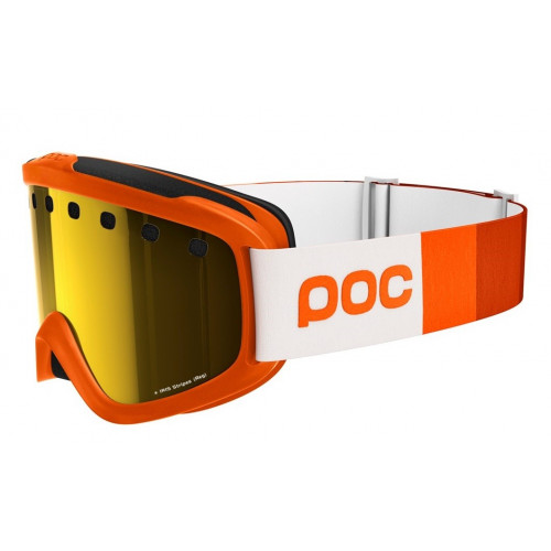 Masque De Ski Poc Iris Stripes Zink Orange