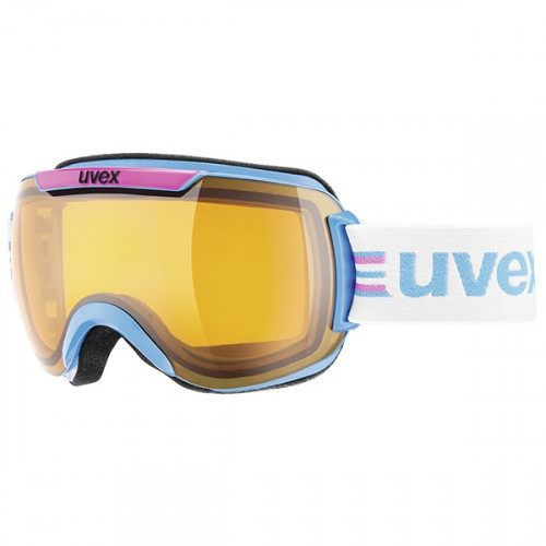 Masque de ski Uvex Downhill 2000 Cyan-Pink