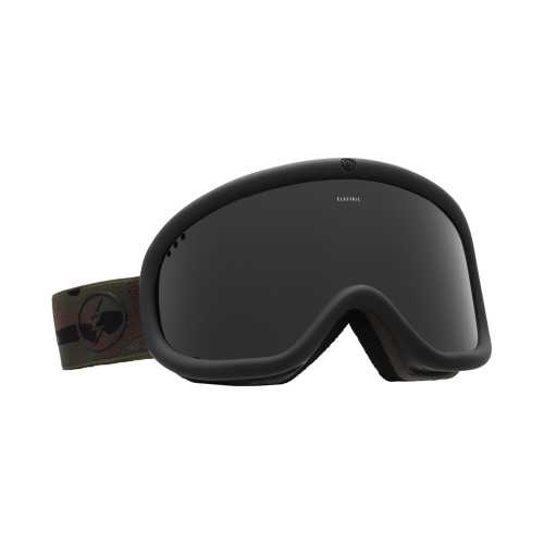 Masque De Ski Electric Charger Dark Camo Jet Black