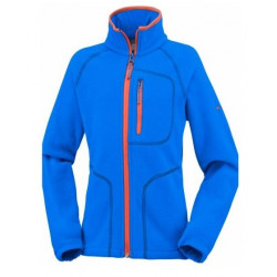 Polaire Combia Fast Trek ll Zip Super Blue Orange