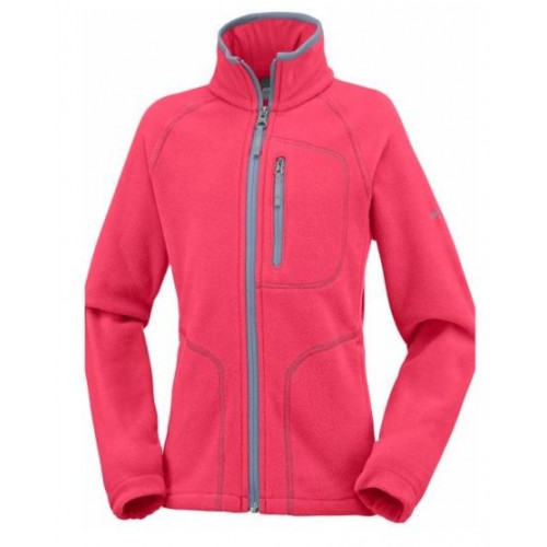 Polaire Columbia Fast Trek ll Full Zip Red Cam Spr