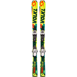 Pack Ski Volkl Jr Racetiger Yellow 3Motion