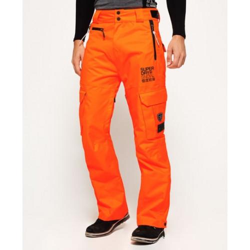 pantalon ski superdry snow pant fluro orange precision ski. Black Bedroom Furniture Sets. Home Design Ideas