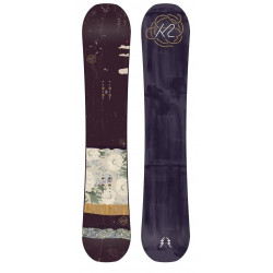 Snowboard K2 Wowpow Bordeau