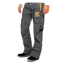 Pantalon De Ski Superdry Snow Pant Grey Marl