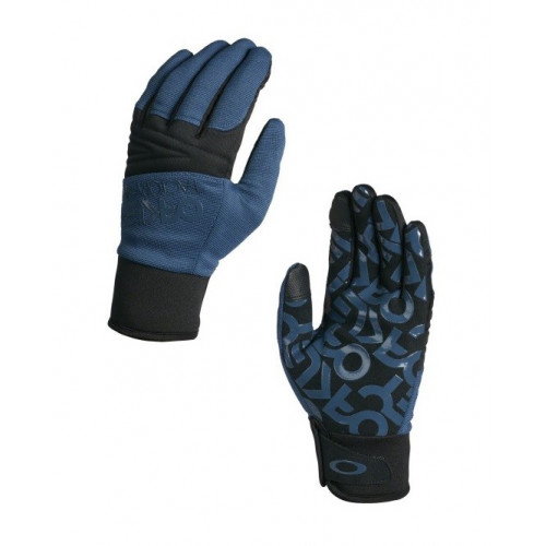 Gants De Ski Oakley Factory Park Glove Blue Shade