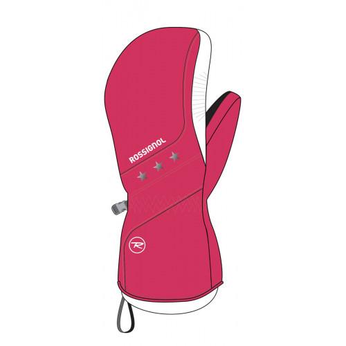 Moufles De Ski Rossignol Jr Gyna Very Pink
