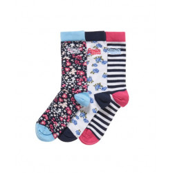 Chaussettes Superdry Country Flral Sock Pack Vhc