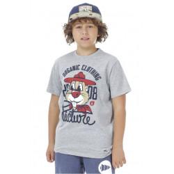 T-shirt Picture Organic Beaver Grey Melange