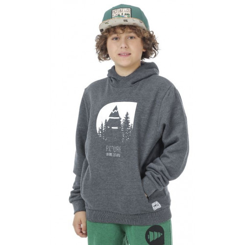 Sweat à Capuche Picture Organic Wild Kids Black