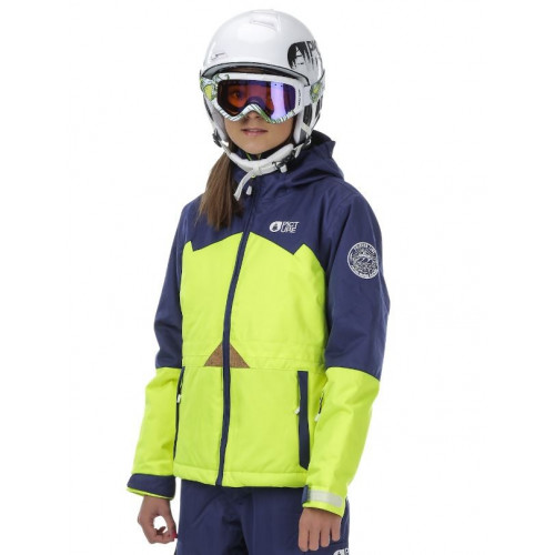 Veste De Ski Picture Organic Neon Yellow/Dark Blue
