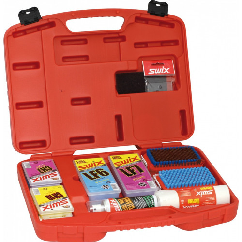 Mallette Swix Kit De Base Fart De Glisse Rouge
