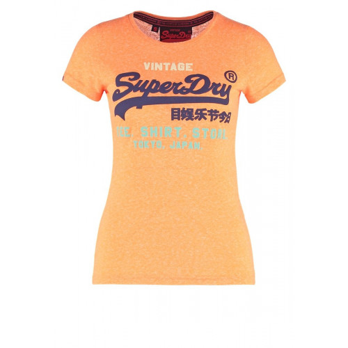 T-shirt Superdry Shop Tri Popsicle Peach Snwoy