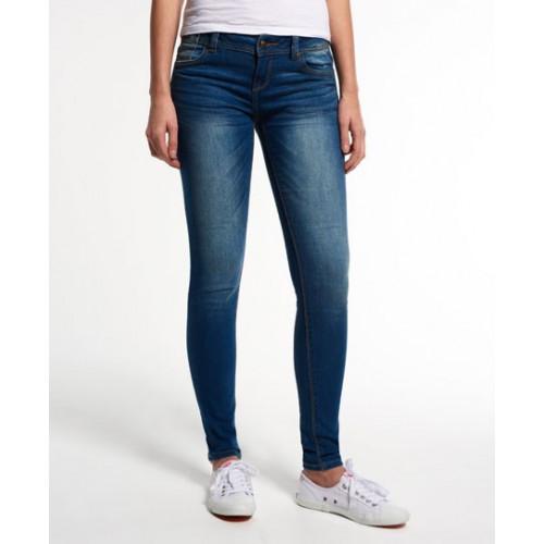 Pantalon Superdry Cassie Skinny Almalfi Blue