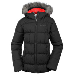 Veste de Ski Columbia Gyroslope Black Red Camellia