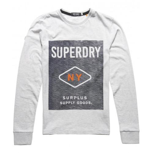 T-shirt Superdry Surplus Goods Graphic Grey Grit
