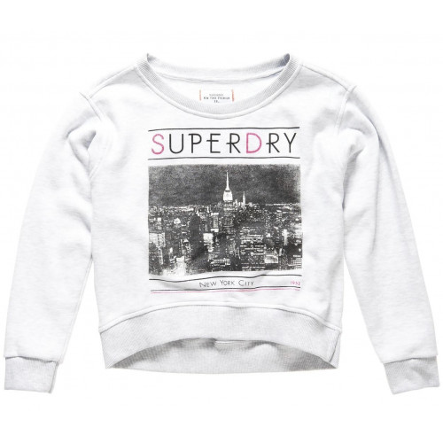 Pull Superdry Ny Sweat Ice Marl