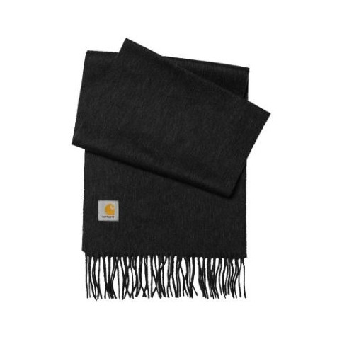 Echarpe Carhartt Clan Scarf Black Heather