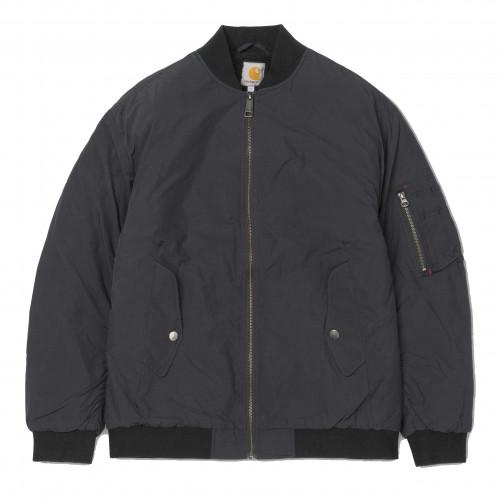Blouson Carhartt W' Daby Jacket Black Forest