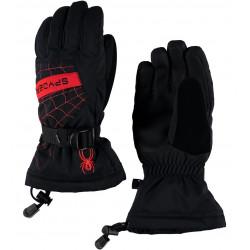 Gants de Ski Spyder Overweb Blk/Red