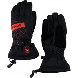 Gants de Ski Spyder Boy's Overweb Blk/Rag
