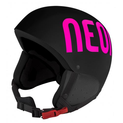 Casque de Ski Neon Freeride Black / Pink Fluo