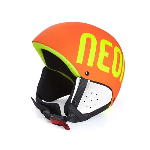 Casque de Ski Neon Freeride Orange Yellow