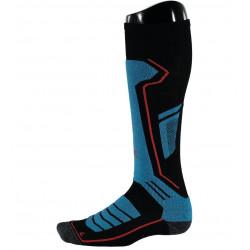 Chaussettes De Ski Spyder Sport Merino Blk/Elb/Rag