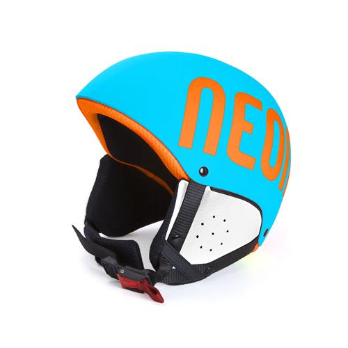 Casque de Ski Neon Freeride Cyan Fluo /Orange Fluo