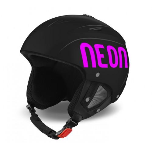 Casque de Ski Neon Lunar Black / Pink Fluo