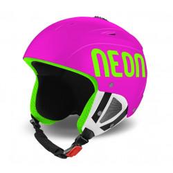 Casque de Ski Neon Lunar Pink Fluo / Green Fluo