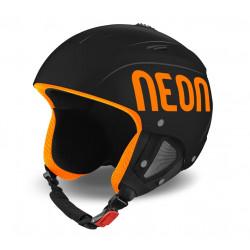 Casque de Ski Neon Lunar Black / Orange Fluo