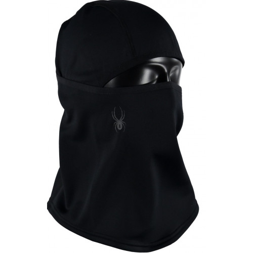 Cagoule Spyder Shield Fleece Pivot Black/Pol