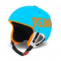 Casque de Ski Neon Lunar Cyan Fluo / Orange Fluo