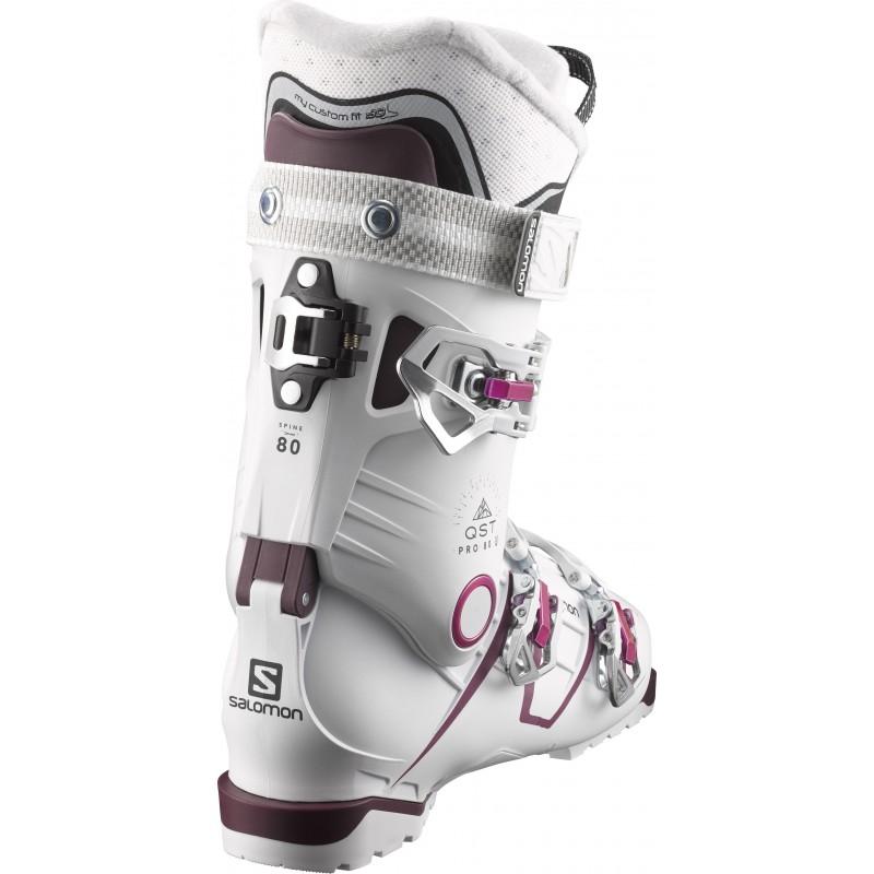 Burgandy 80 Chaussures Pro Pk Salomon De Precision W Ski Qst Wq0w0HfgA