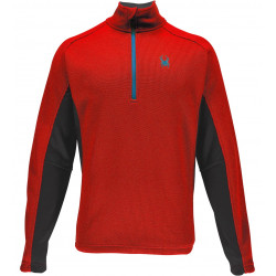 Polaire Spyder Outbound Half Zip Tailored Mid Rge