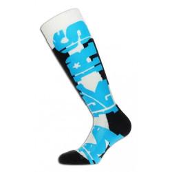 Chaussettes de ski Makalu Mont Dore Bleu