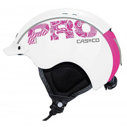 Casque de ski Casco Mini Pro White Pink