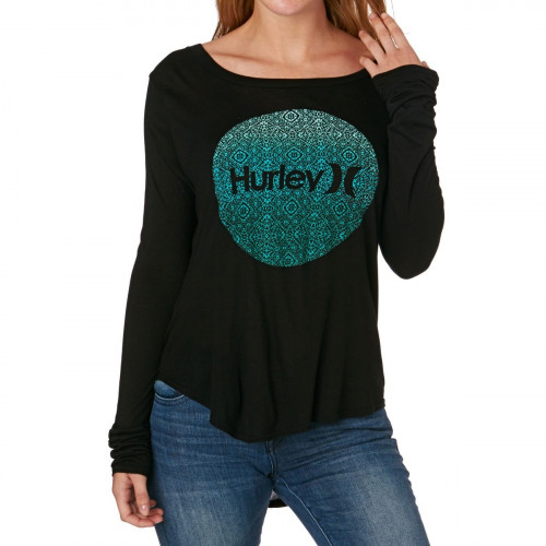 T-shirt Hurley Krush Live Classic Black