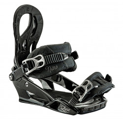 Fixations De Snowboard Nitro Lynx Black