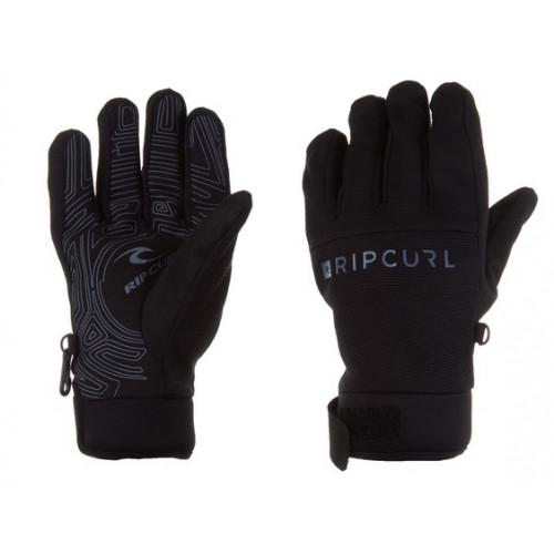 Gants De Ski Rip Curl Pipe Gloves Men Jet Black