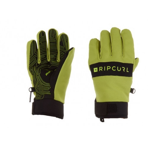 Gants De Ski Rip Curl Pipe Gloves Men Lime Green